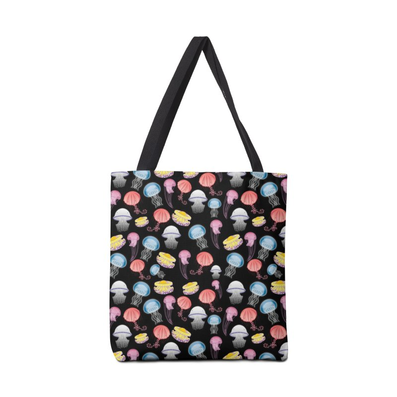 Jellyfishes of the Mediterranean Sea Accessories Bag by Tostoini