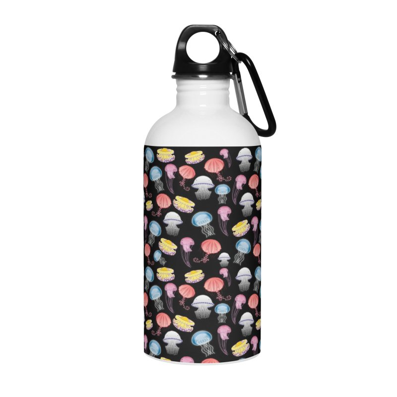Jellyfishes of the Mediterranean Sea Accessories Water Bottle by Tostoini