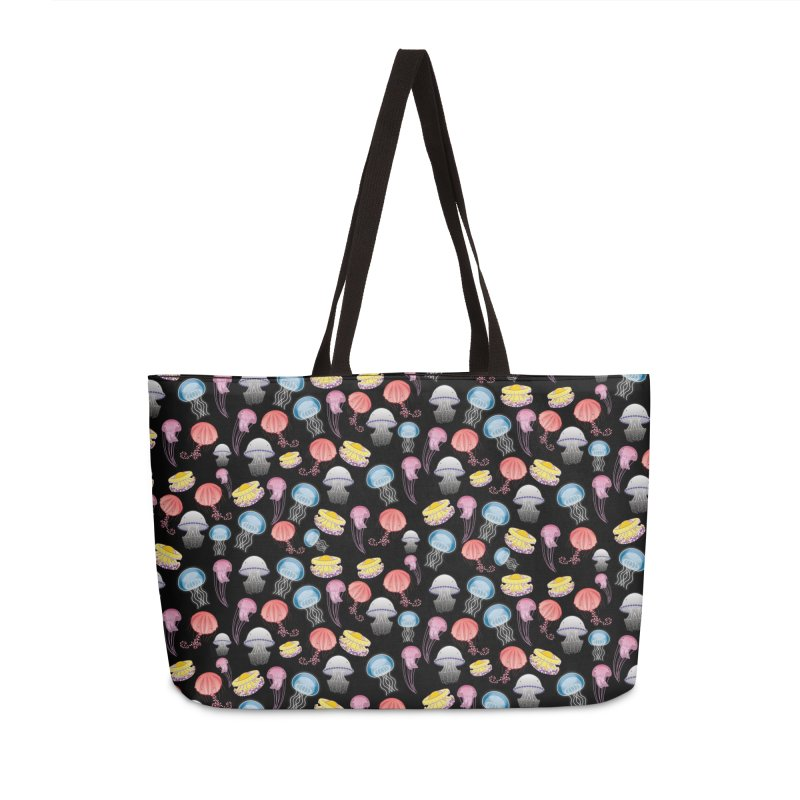Jellyfishes of the Mediterranean Sea Accessories Weekender Bag Bag by Tostoini