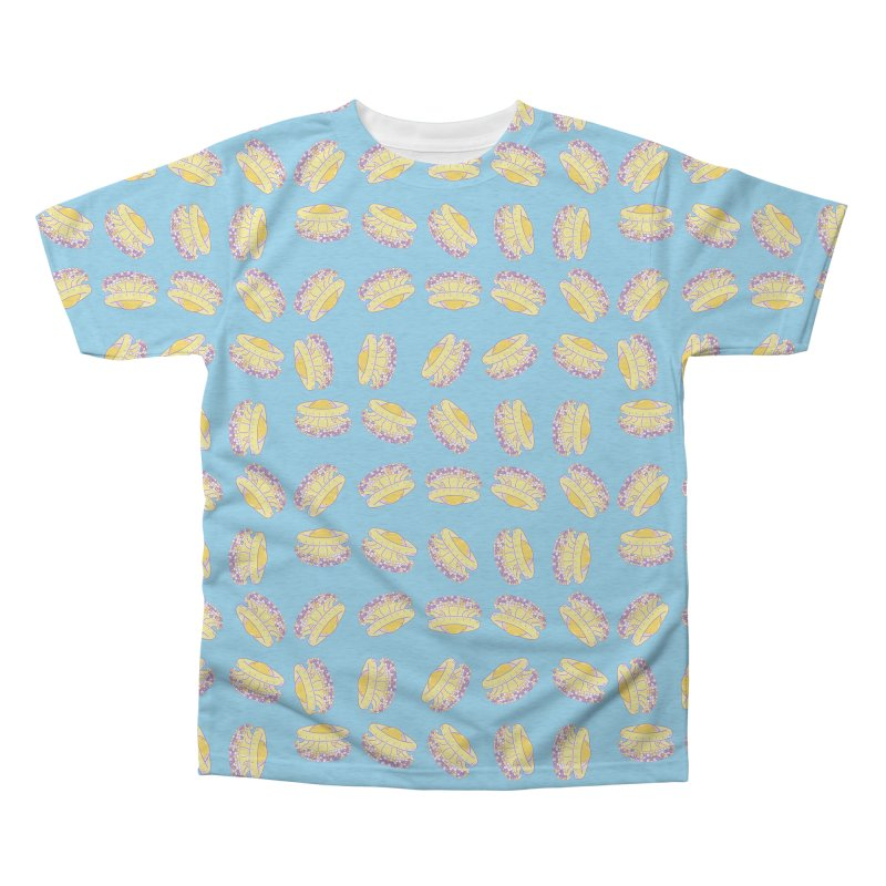Cothyloriza Tubercolata | Jellyfish of the Mediterranean Sea Men's Triblend All Over Print by Tostoini