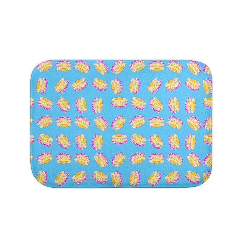 Cothyloriza Tubercolata | Jellyfish of the Mediterranean Sea Home Bath Mat by Tostoini