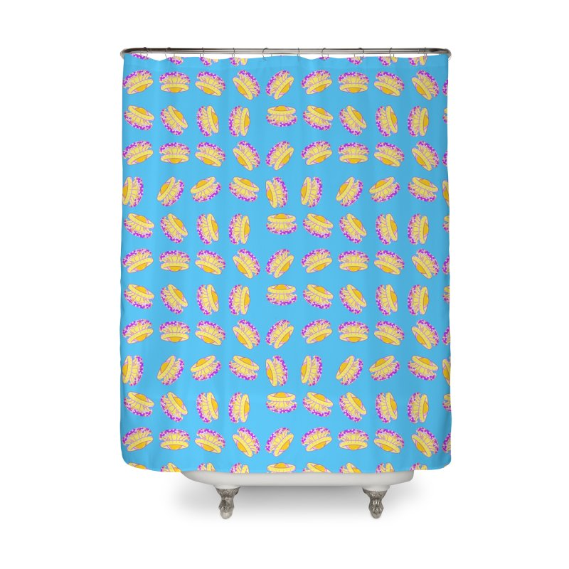 Cothyloriza Tubercolata | Jellyfish of the Mediterranean Sea Home Shower Curtain by Tostoini