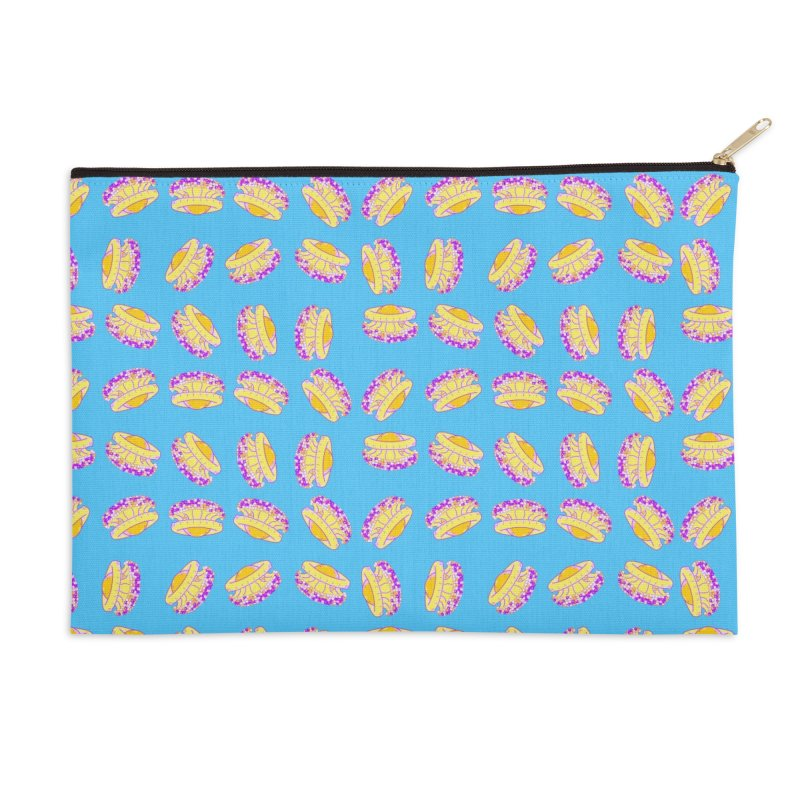 Cothyloriza Tubercolata | Jellyfish of the Mediterranean Sea Accessories Zip Pouch by Tostoini