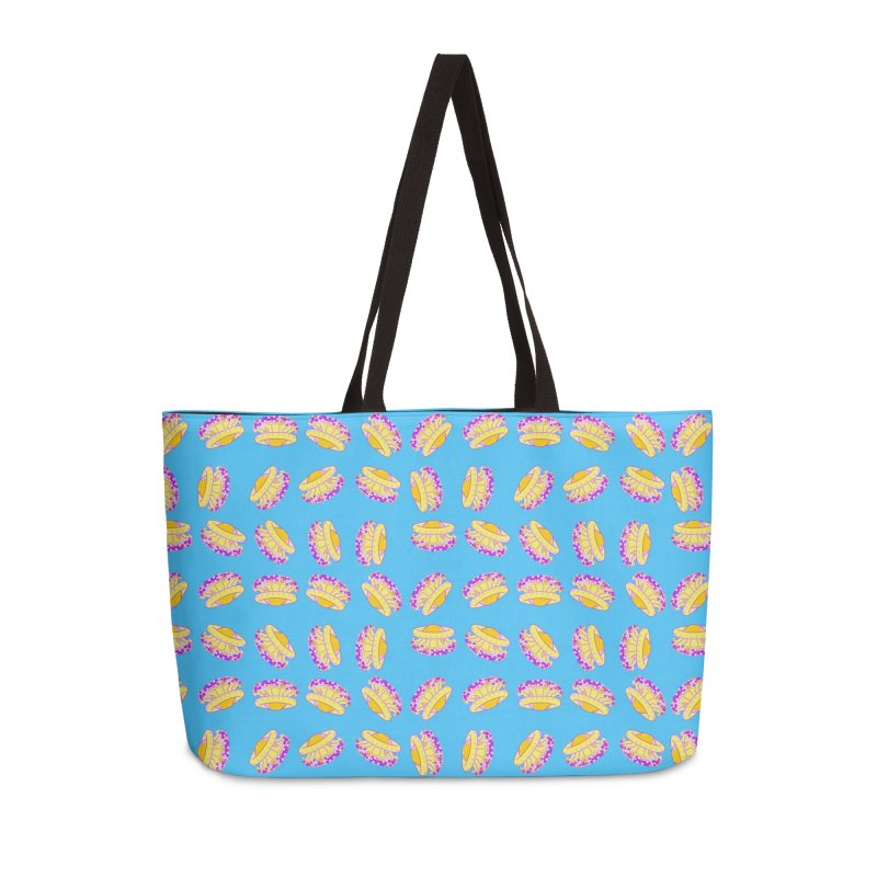 Cothyloriza Tubercolata | Jellyfish of the Mediterranean Sea Accessories Bag by Tostoini