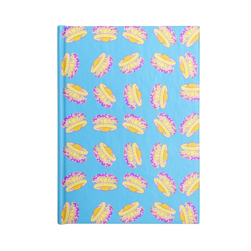 Cothyloriza Tubercolata | Jellyfish of the Mediterranean Sea Accessories Lined Journal Notebook by Tostoini