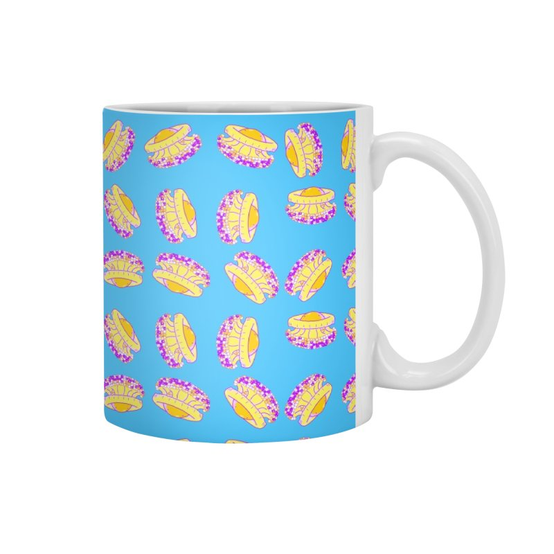 Cothyloriza Tubercolata | Jellyfish of the Mediterranean Sea Accessories Mug by Tostoini