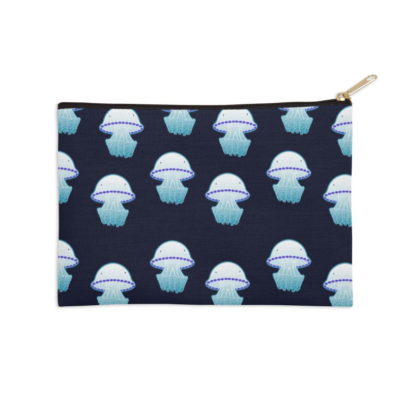 Rhizostoma Pulmo Accessories Zip Pouch by Tostoini