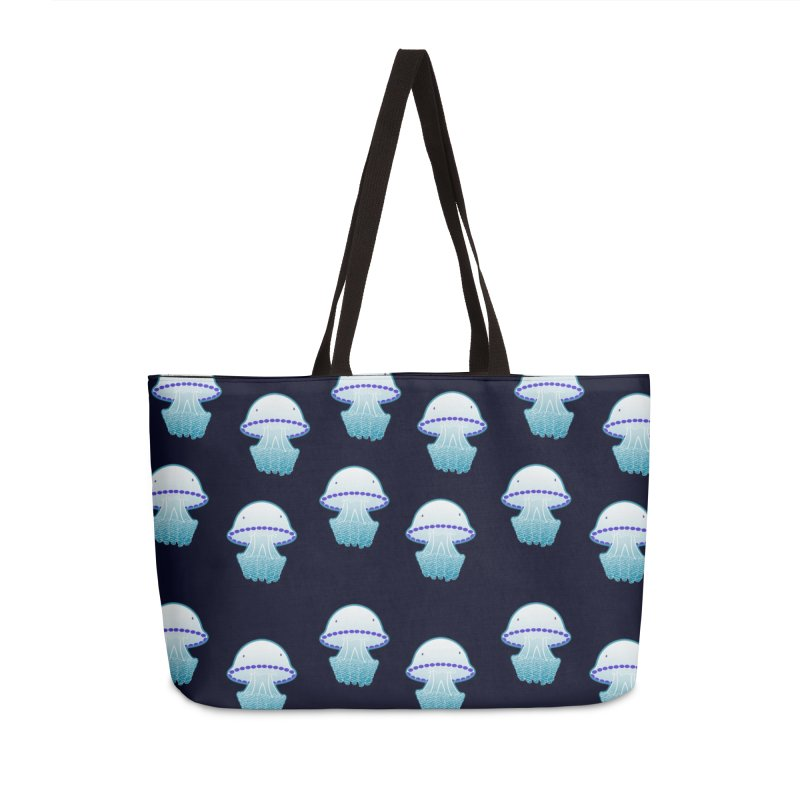 Rhizostoma Pulmo Accessories Bag by Tostoini