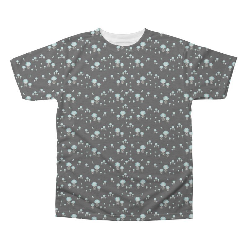 Aurelia Aurita | Jellyfish of the Mediterranean Sea Men's Triblend All Over Print by Tostoini