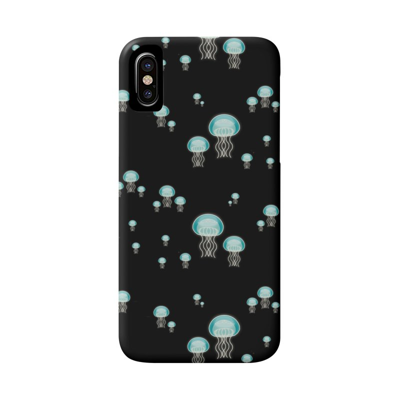 Aurelia Aurita | Jellyfish of the Mediterranean Sea Accessories Phone Case by Tostoini