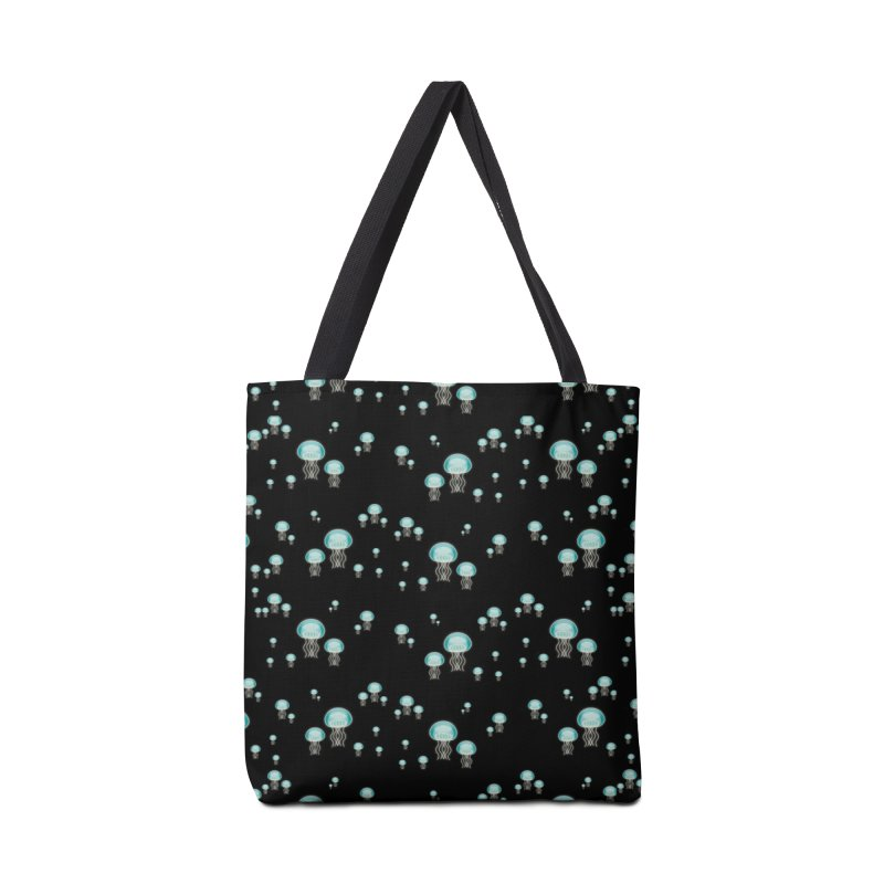 Aurelia Aurita | Jellyfish of the Mediterranean Sea Accessories Tote Bag Bag by Tostoini