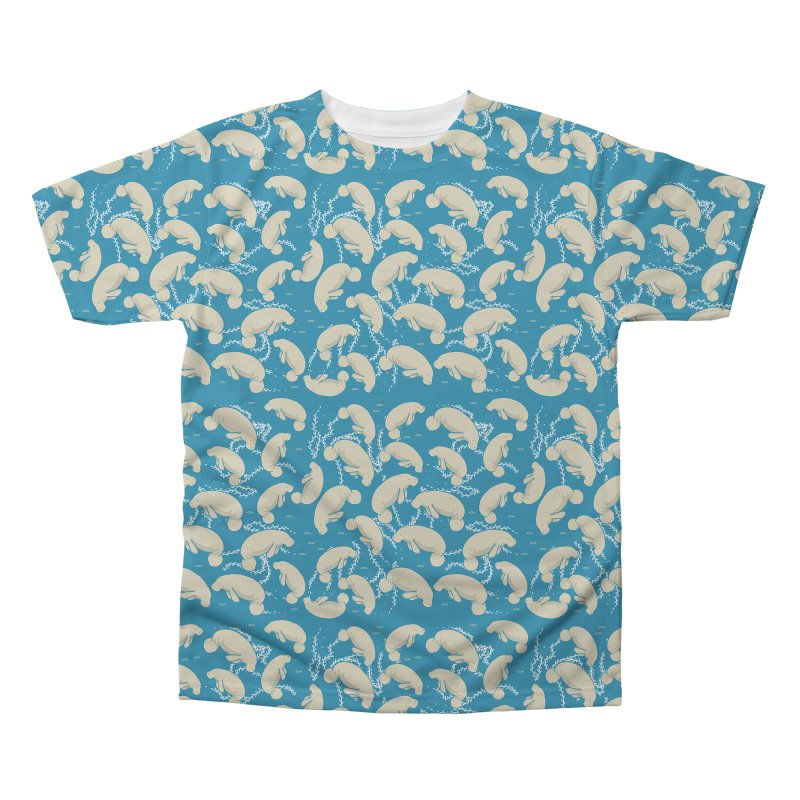 Lamentino the manatee Men's Regular All Over Print by Tostoini