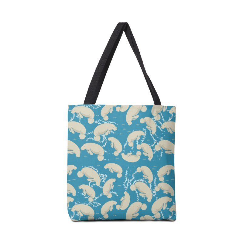 Lamentino the manatee Accessories Tote Bag Bag by Tostoini