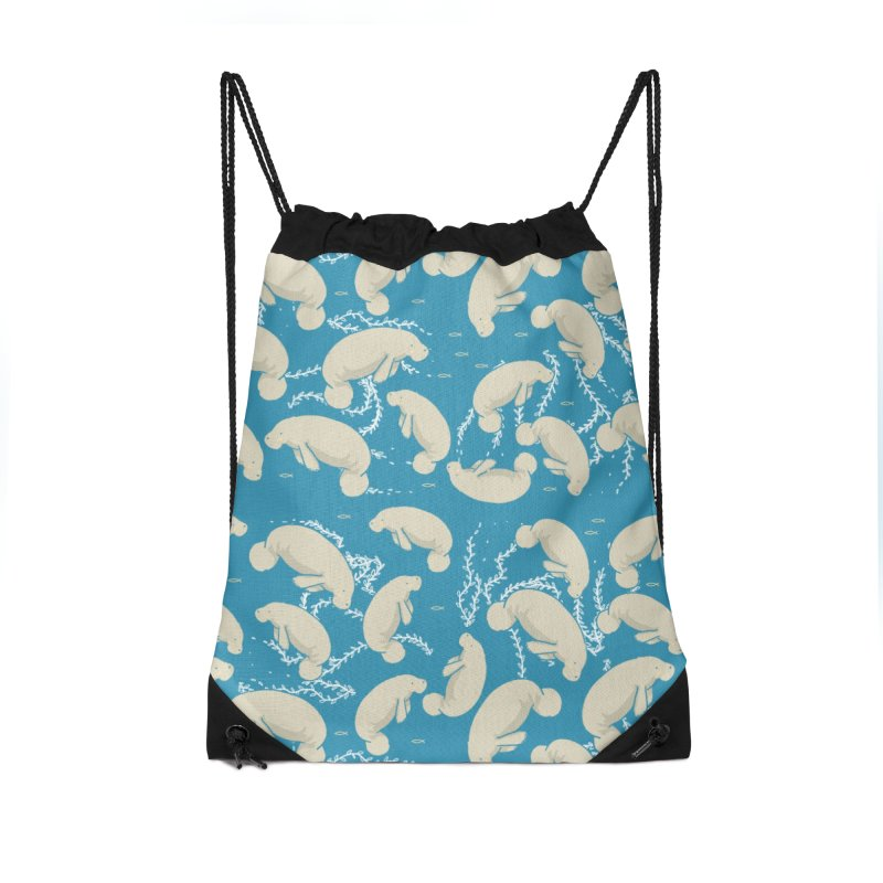 Lamentino the manatee Accessories Bag by Tostoini