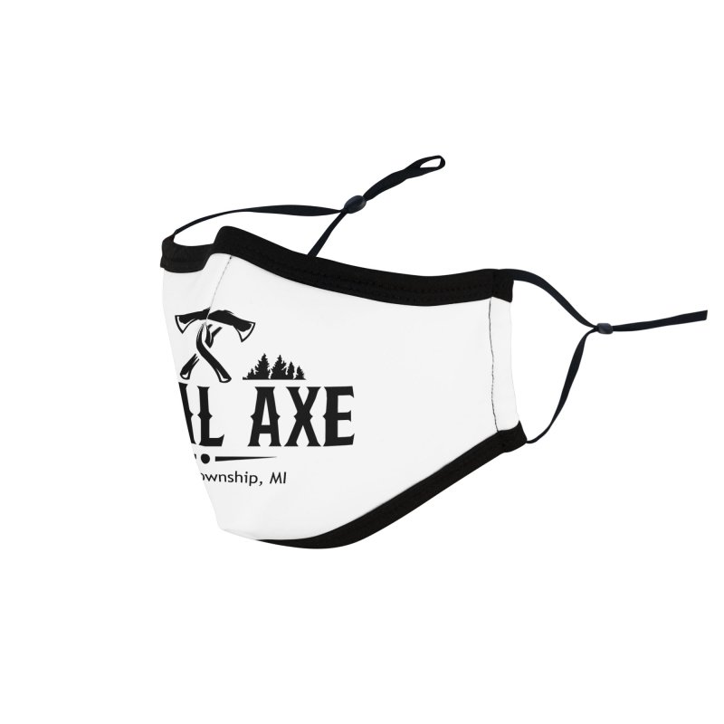 Total Axe Black Logo Accessories Face Mask by Total Axe Throwing Online Shop
