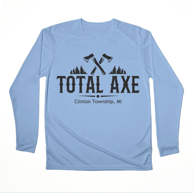 Total Axe Black Logo Women's Longsleeve T-Shirt by Total Axe Throwing Online Shop