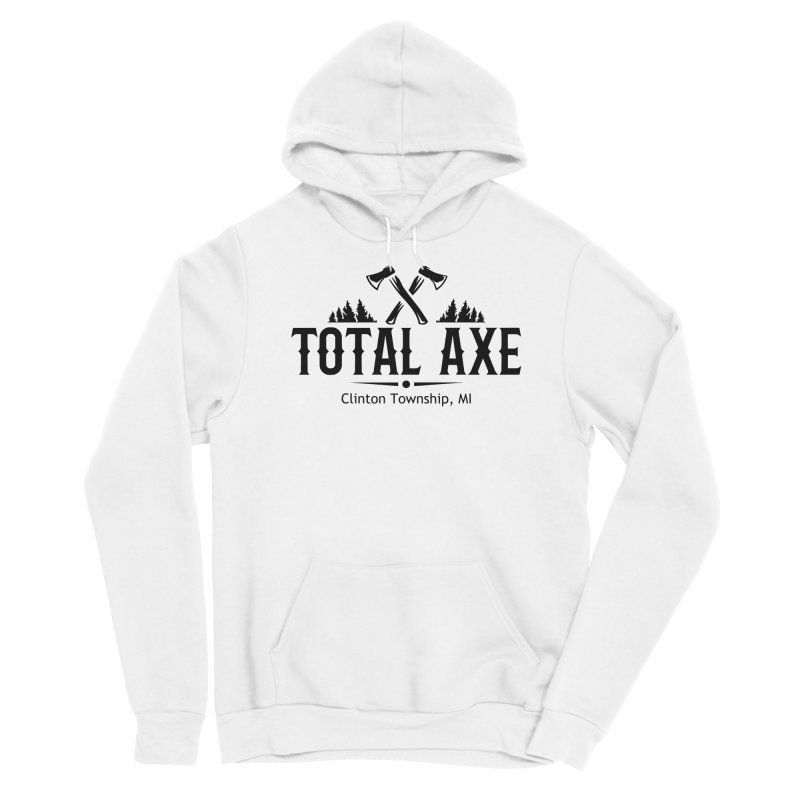 Total Axe Black Logo Women's Pullover Hoody by Total Axe Throwing Online Shop