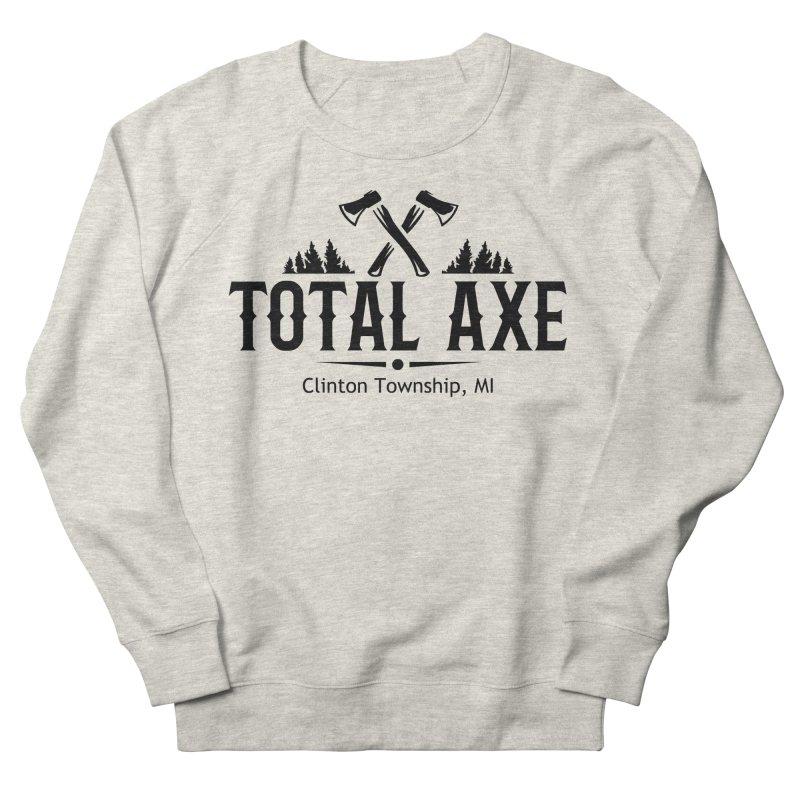 Total Axe Black Logo Women's Sweatshirt by Total Axe Throwing Online Shop
