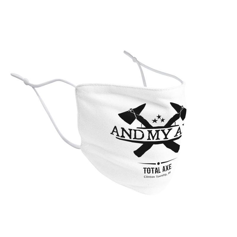 And My Axe Accessories Face Mask by Total Axe Throwing Online Shop