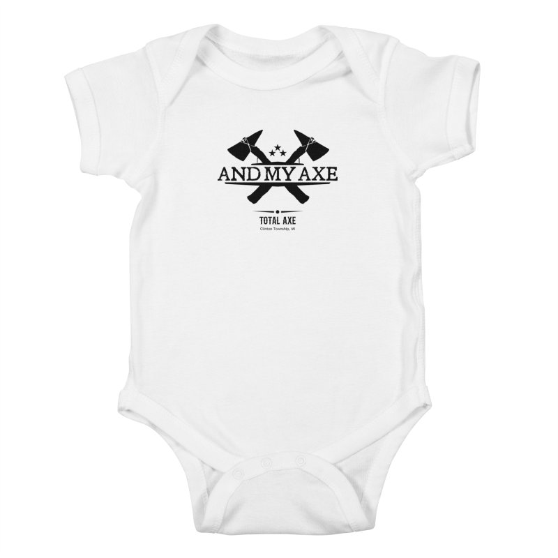 And My Axe Kids Baby Bodysuit by Total Axe Throwing Online Shop