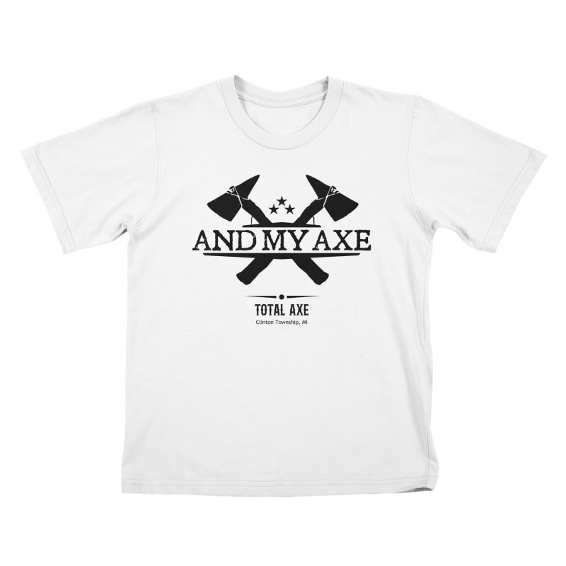 And My Axe Kids T-Shirt by Total Axe Throwing Online Shop
