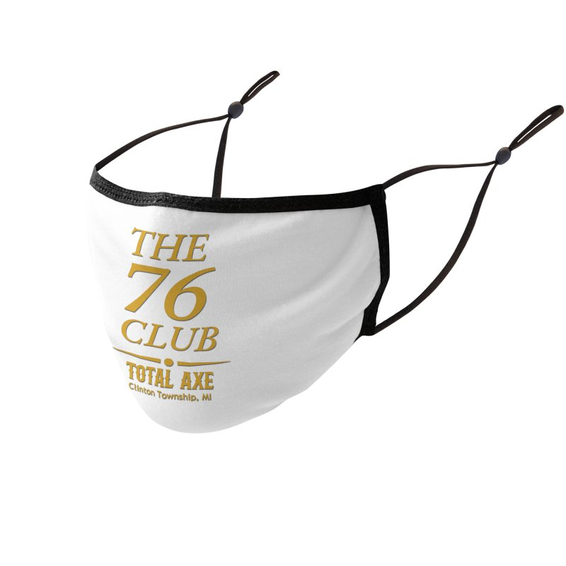 The 76 Club Accessories Face Mask by Total Axe Throwing Online Shop