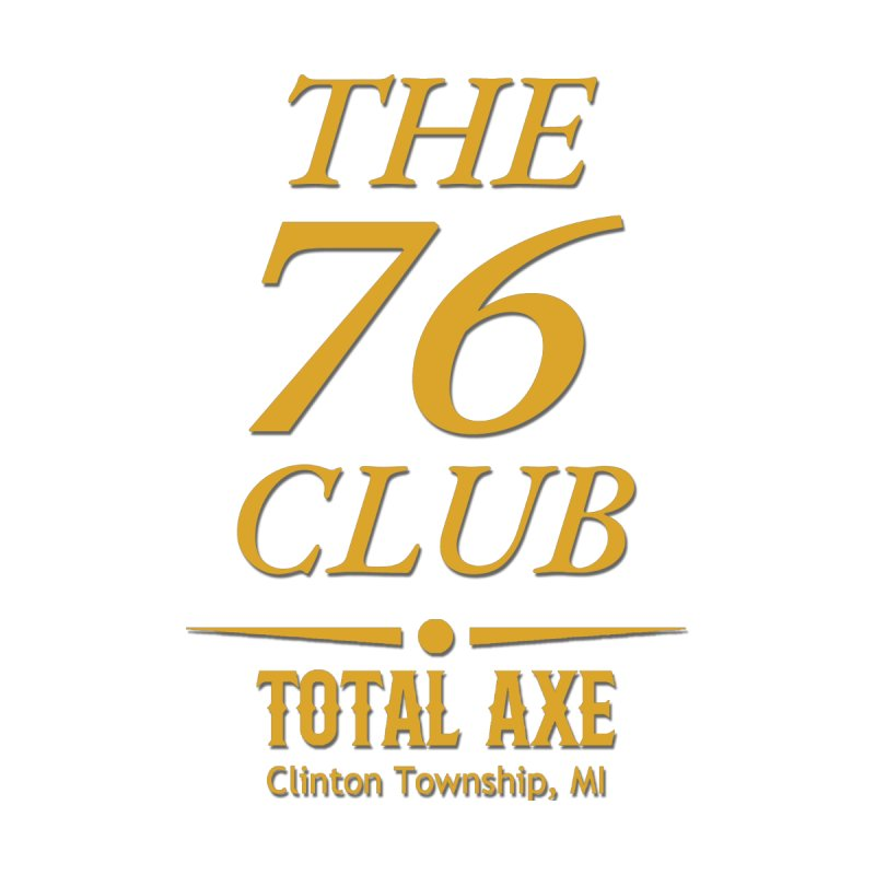 The 76 Club Home Bath Mat by Total Axe Throwing Online Shop