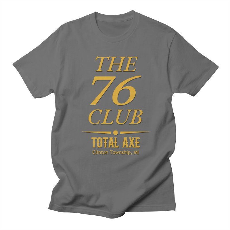 The 76 Club Men's T-Shirt by Total Axe Throwing Online Shop