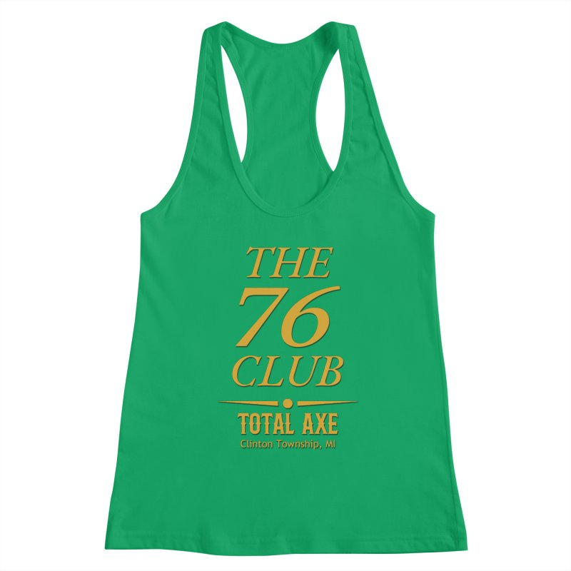 The 76 Club Women's Tank by Total Axe Throwing Online Shop