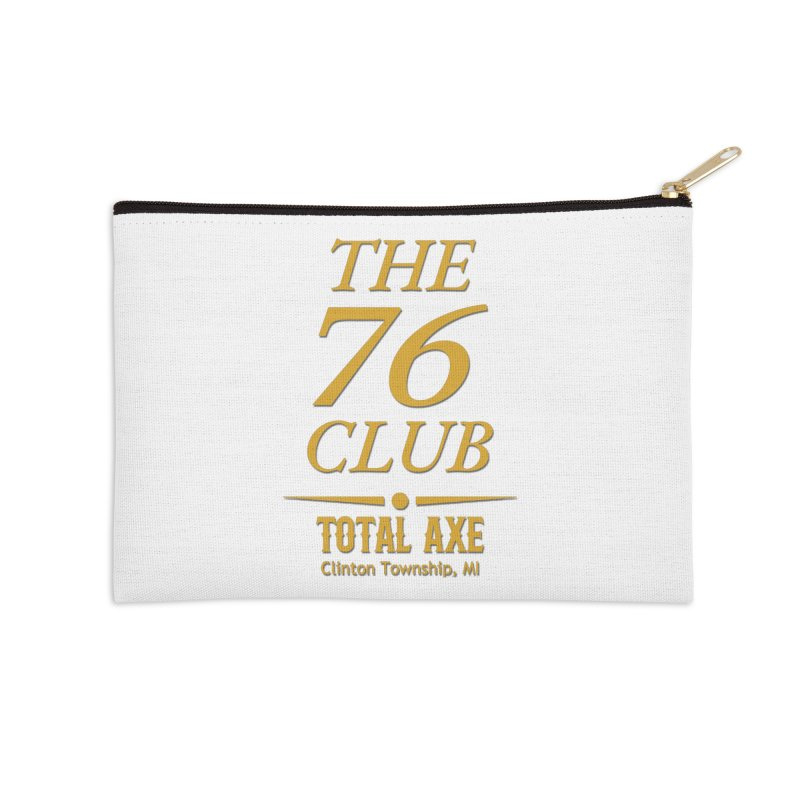 The 76 Club Accessories Zip Pouch by Total Axe Throwing Online Shop