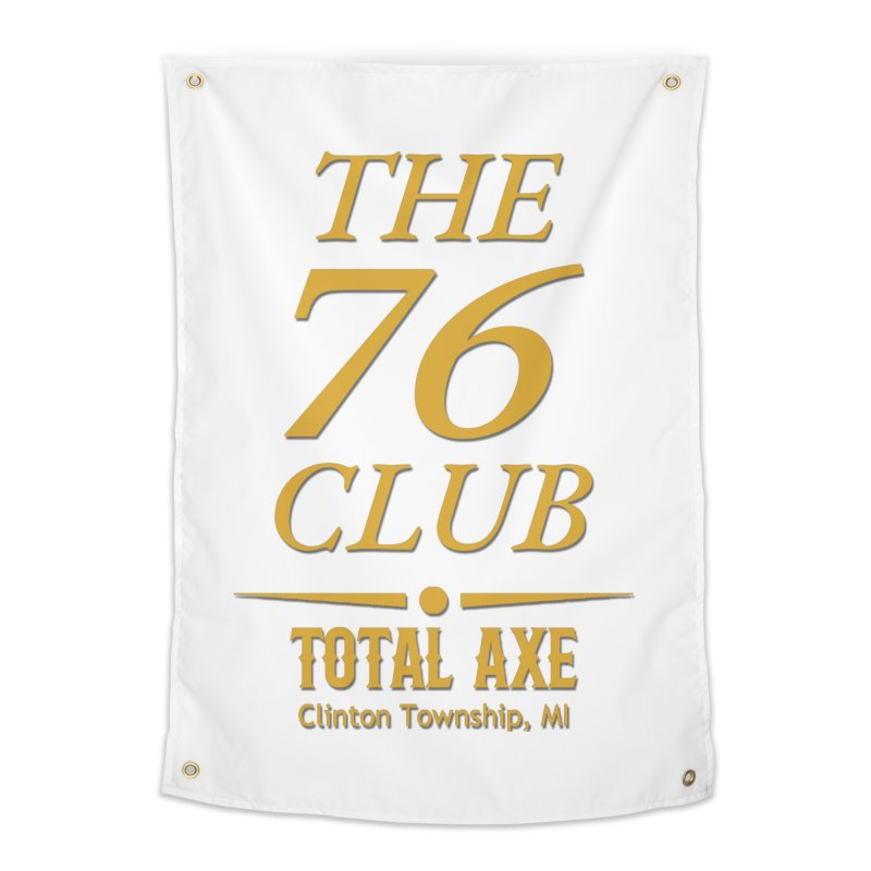 The 76 Club Home Tapestry by Total Axe Throwing Online Shop