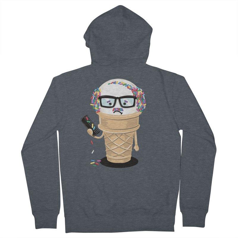 Ice Cream Coneover Women's Zip-Up Hoody by totalbabycakes's Artist Shop