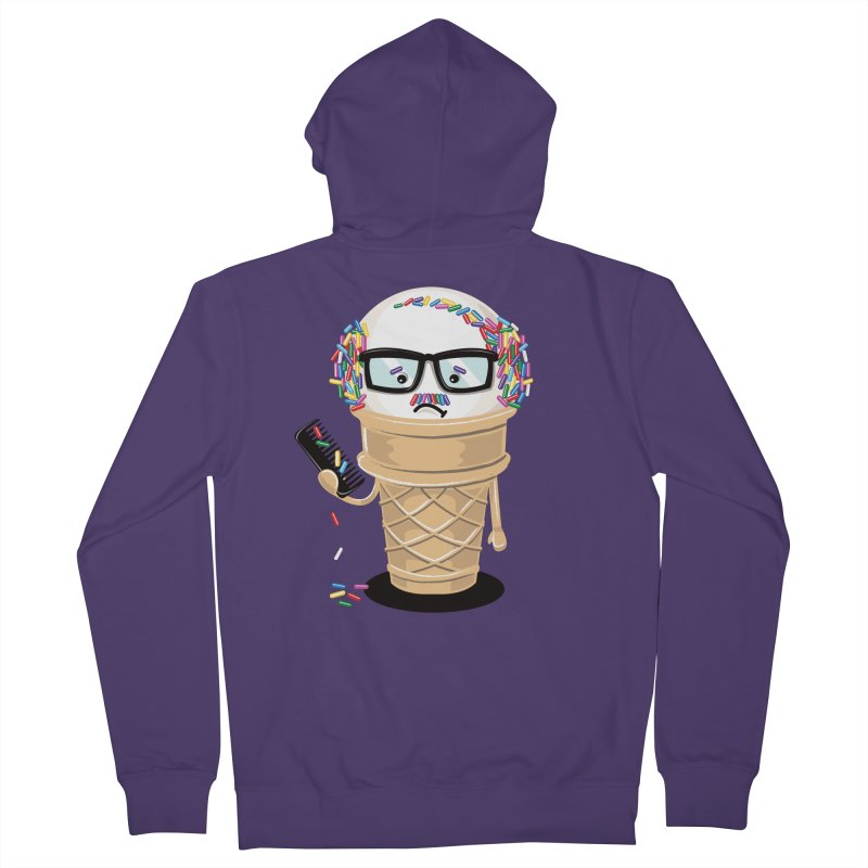 Ice Cream Coneover Women's Zip-Up Hoody by totalbabycakes's Artist Shop