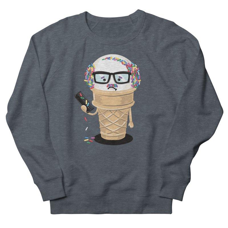 Ice Cream Coneover Men's Sweatshirt by totalbabycakes's Artist Shop