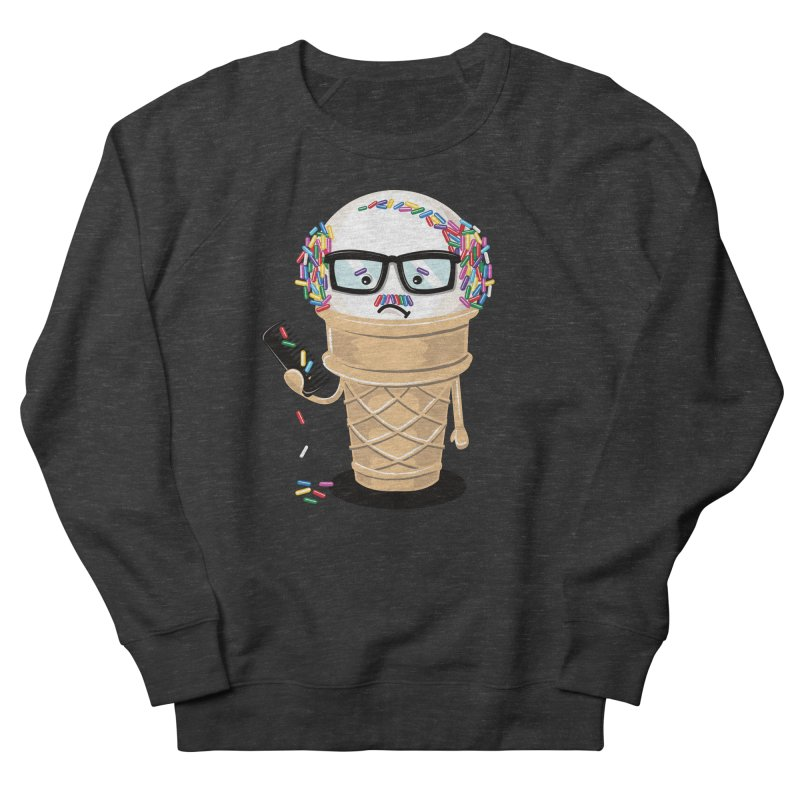 Ice Cream Coneover Men's French Terry Sweatshirt by totalbabycakes's Artist Shop