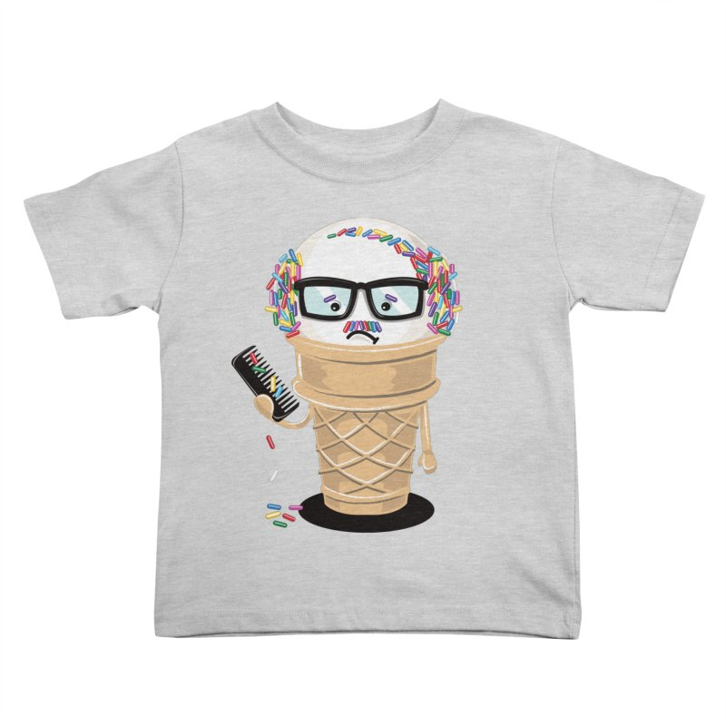 Ice Cream Coneover Kids Toddler T-Shirt by totalbabycakes's Artist Shop
