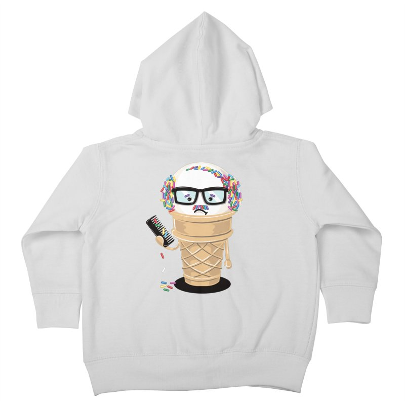 Ice Cream Coneover Kids Toddler Zip-Up Hoody by totalbabycakes's Artist Shop