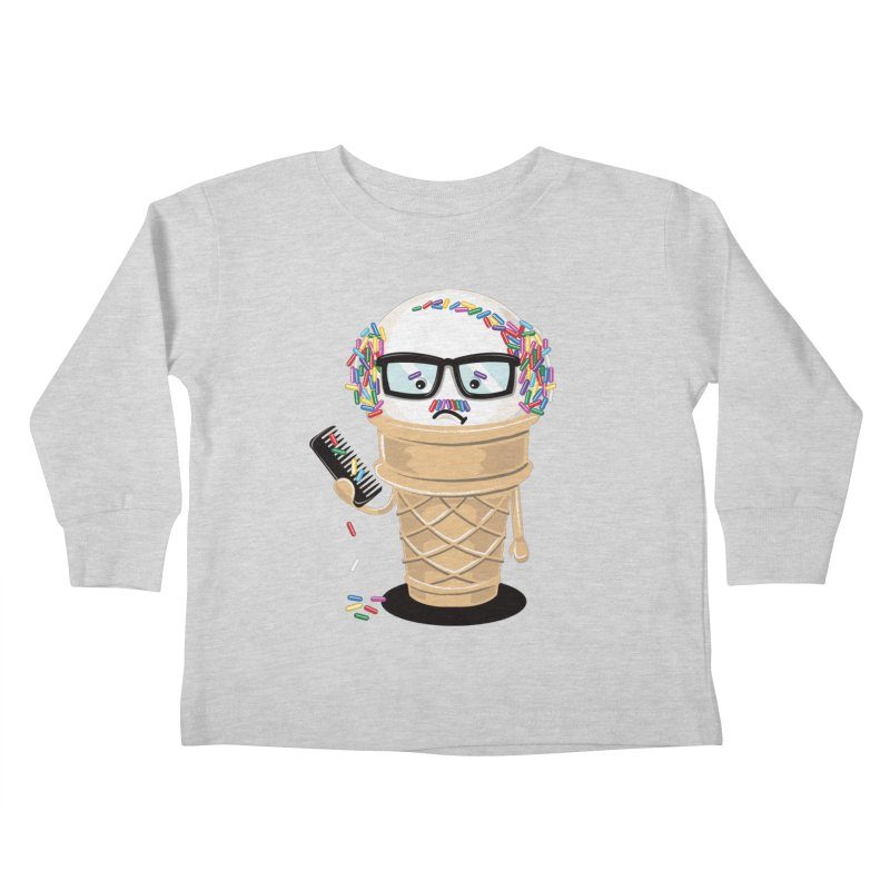 Ice Cream Coneover Kids Toddler Longsleeve T-Shirt by totalbabycakes's Artist Shop