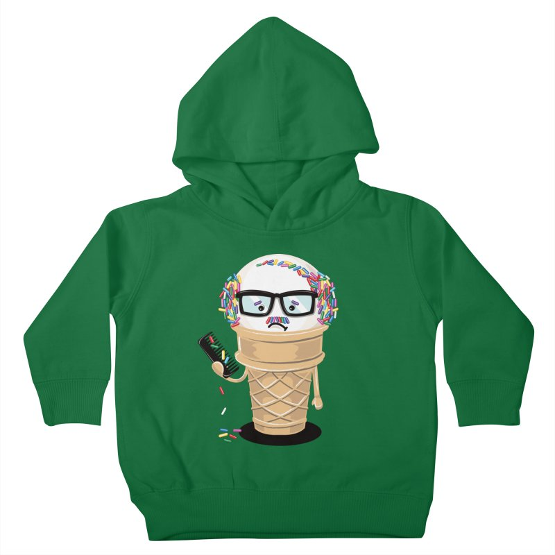 Ice Cream Coneover Kids Toddler Pullover Hoody by totalbabycakes's Artist Shop