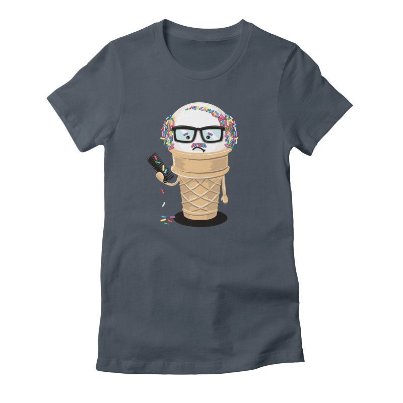 Ice Cream Coneover Women's T-Shirt by totalbabycakes's Artist Shop