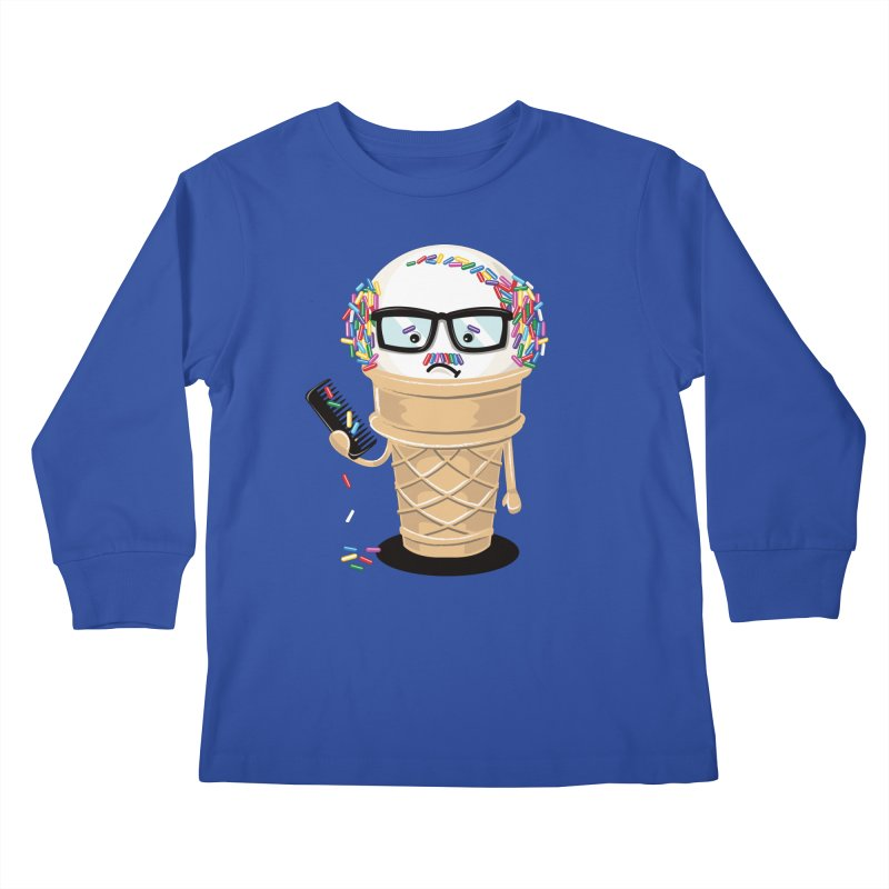 Ice Cream Coneover Kids Longsleeve T-Shirt by totalbabycakes's Artist Shop