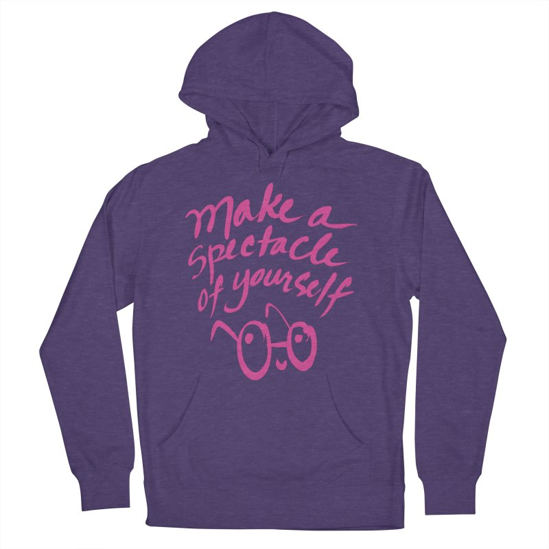 Make a Spectacle of Yourself Women's French Terry Pullover Hoody by totalbabycakes's Artist Shop