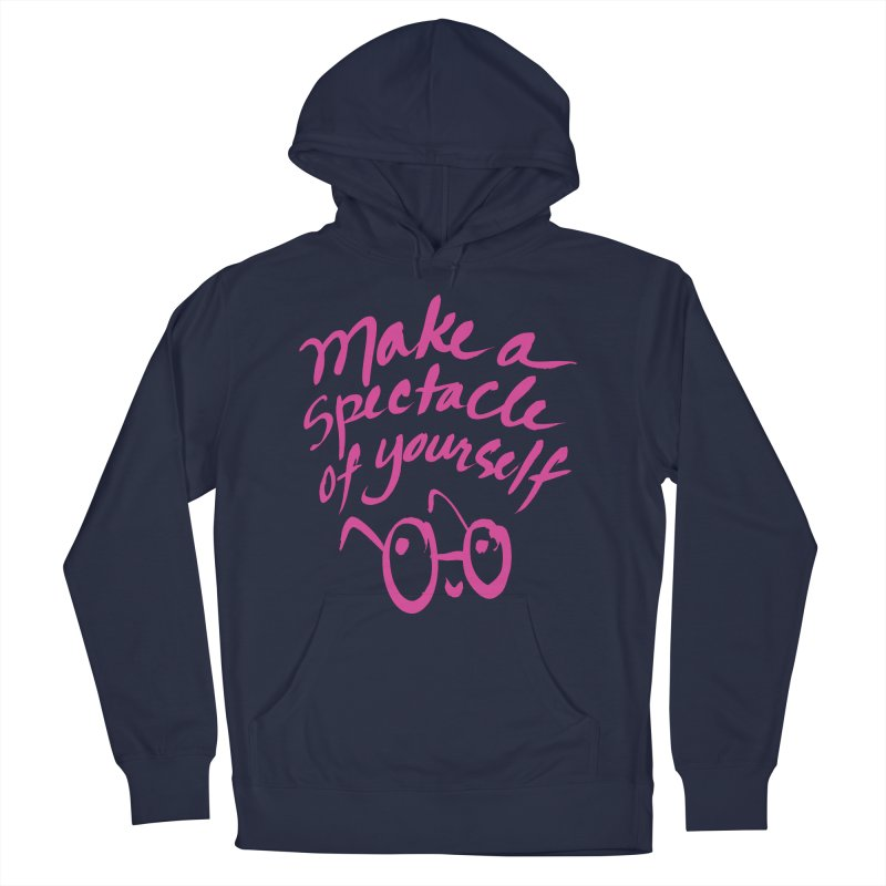Make a Spectacle of Yourself Men's Pullover Hoody by totalbabycakes's Artist Shop