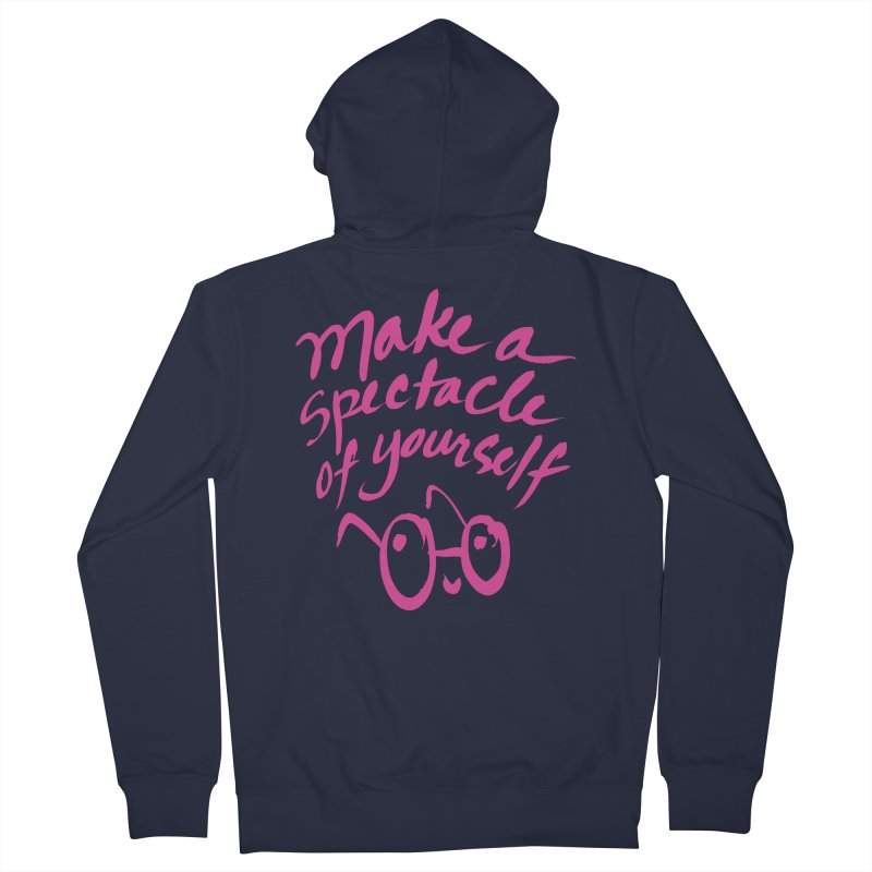 Make a Spectacle of Yourself Men's Zip-Up Hoody by totalbabycakes's Artist Shop