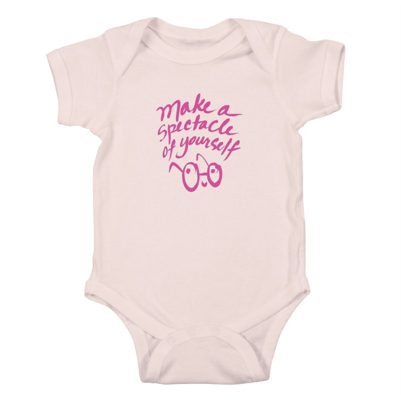 Make a Spectacle of Yourself Kids Baby Bodysuit by totalbabycakes's Artist Shop