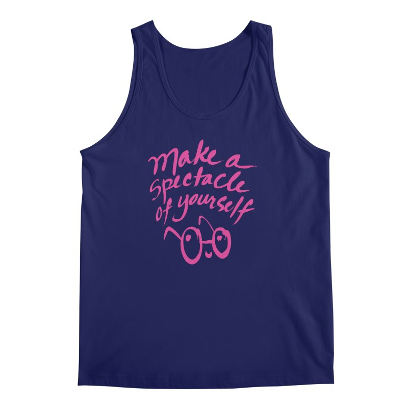 Make a Spectacle of Yourself Men's Regular Tank by totalbabycakes's Artist Shop