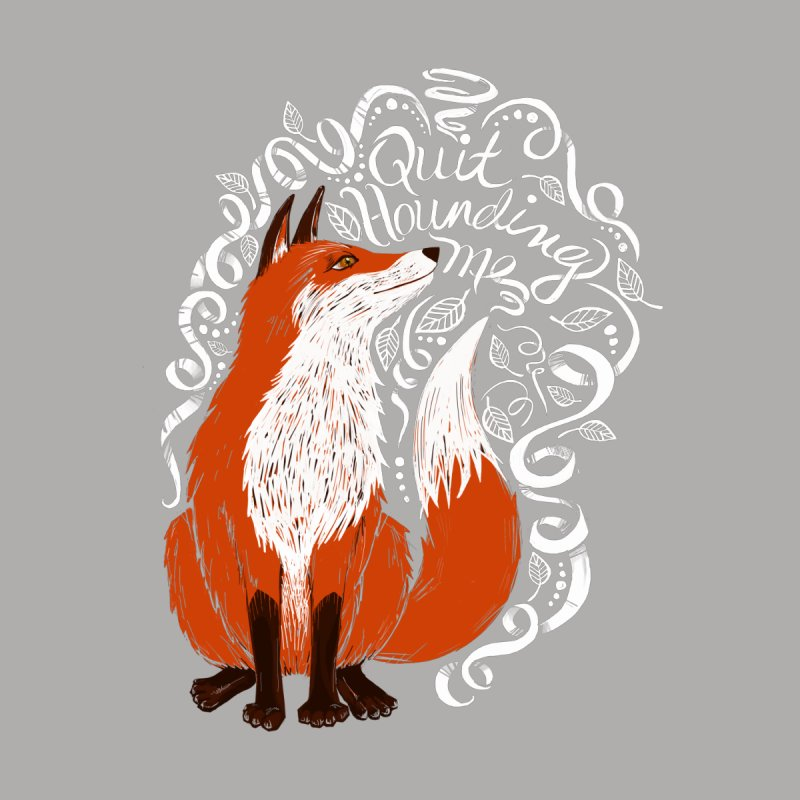 The Fox Says... Women's Triblend T-Shirt by totalbabycakes's Artist Shop