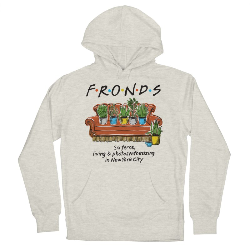 FRONDS Women's Pullover Hoody by totalbabycakes's Artist Shop