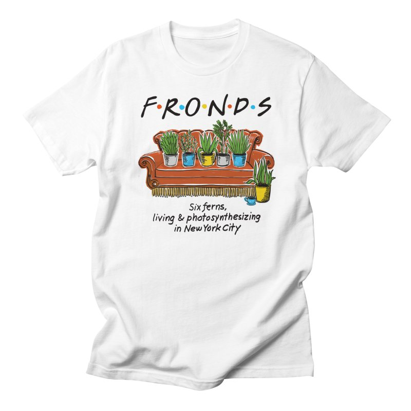 FRONDS Men's Regular T-Shirt by totalbabycakes's Artist Shop