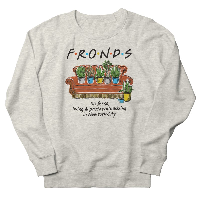 FRONDS Men's French Terry Sweatshirt by totalbabycakes's Artist Shop